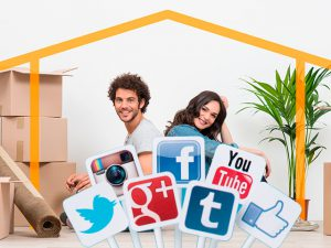 Redes Sociales en la Inmobiliaria